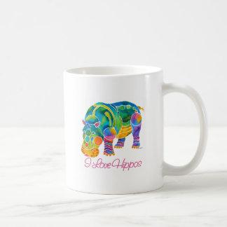 La mayoría de los HIPOPÓTAMOS populares del amor d Tazas De Café