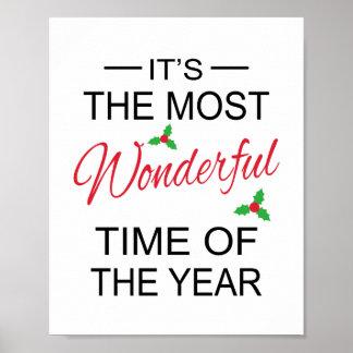 La mayoría del arte maravilloso del navidad del ti poster