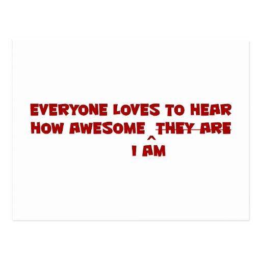 La mayoría del Awesomest Postal