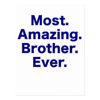 La mayoría del Brother asombroso nunca Postales