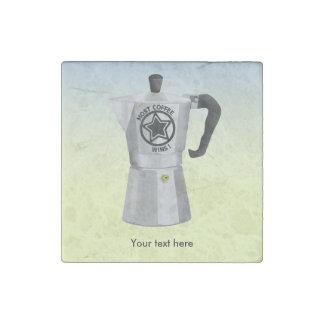 La mayoría del café gana el fabricante de café imán de piedra