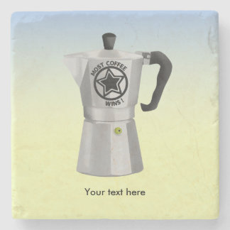 La mayoría del café gana el fabricante de café posavasos de piedra
