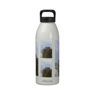 La mayoría del camino peligroso de la muerte de botella de agua reutilizable