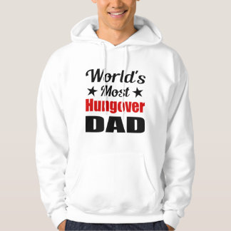 La mayoría del humor de consumición del papá sudadera con capucha