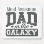 La mayoría del papá impresionante en la galaxia tapete de ratones