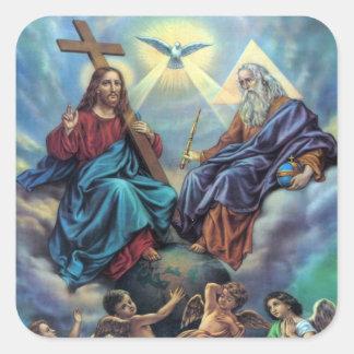 La mayoría del pegatina de la trinidad santa