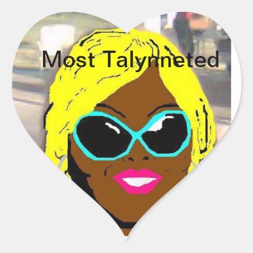 La mayoría del pegatina de Talynneted