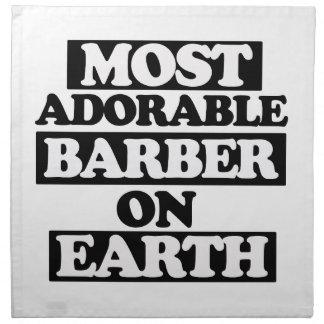 La mayoría del peluquero adorable