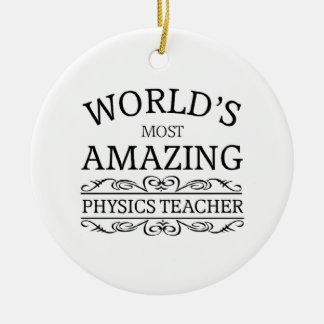 La mayoría del profesor asombroso de la física ornato