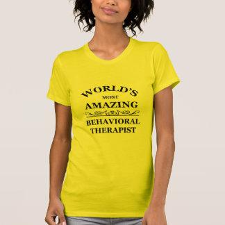 La mayoría del terapeuta del comportamiento asombr camisetas