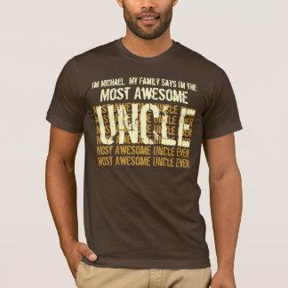 La mayoría del TÍO de la camiseta impresionante