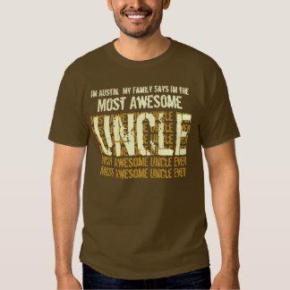 La mayoría del TÍO de la camiseta impresionante Remera