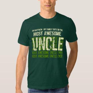 La mayoría del TÍO de la camiseta impresionante Remeras