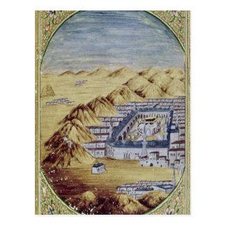 La Meca rodeada por las montañas de Arafa Tarjetas Postales
