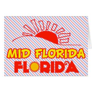 La mediados de Florida, la Florida Felicitacion