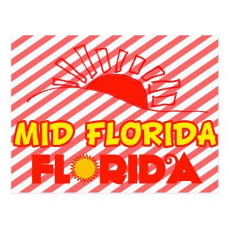 La mediados de Florida, la Florida Postales