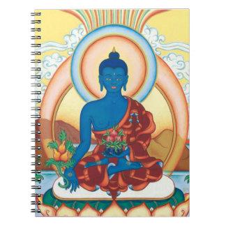 La medicina Buda - amo de la cura Cuaderno