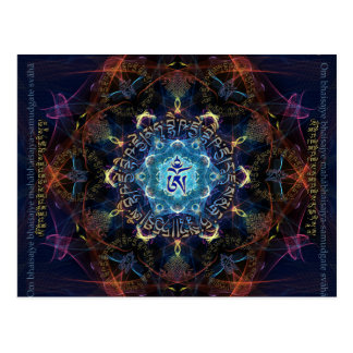 La medicina Buda - Bhaisajyaguru Tarjeta Postal