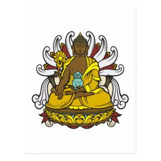 La medicina Buda Postal