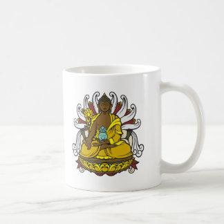 La medicina Buda Taza De Café