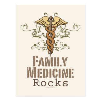 La medicina de familia oscila la postal