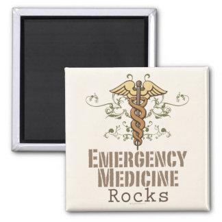La medicina de la emergencia oscila el imán