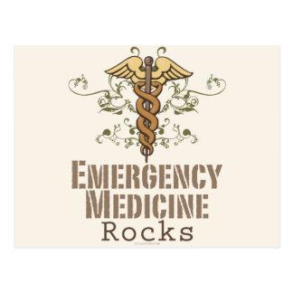 La medicina de la emergencia oscila la postal
