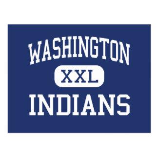 La medio Habra de los indios de Washington Tarjeta Postal