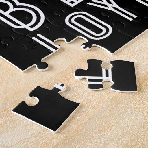 La mediocridad requiere lealtad suave puzzle con fotos