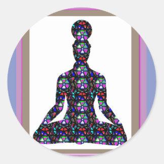 La meditación de la yoga de NVN723 Chakra domina e
