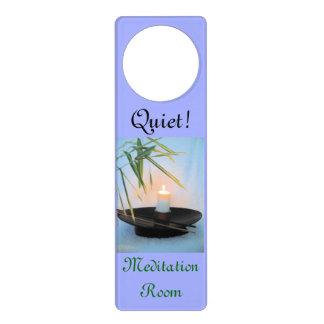 La meditación Reiki no perturba Colgantes Para Puertas