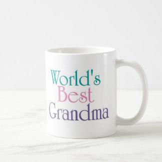 La mejor abuela 1 de los mundos taza de café