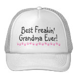 La mejor abuela de Freakin nunca Gorras