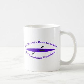 La mejor abuela de los mundos (púrpura) taza