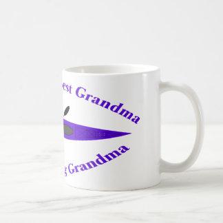 La mejor abuela de los mundos (púrpura) taza clásica