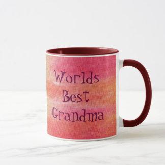 La mejor abuela de los mundos taza