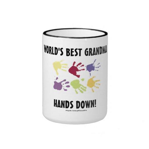 La mejor abuela del mundo impone la taza de café
