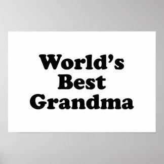 La mejor abuela del mundo posters