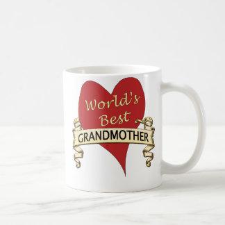 La mejor abuela del mundo taza