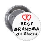 La mejor abuela en la tierra pin