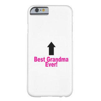 La mejor abuela funda de iPhone 6 barely there