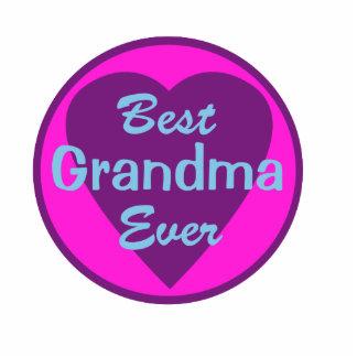 La mejor abuela nunca adorno fotoescultura