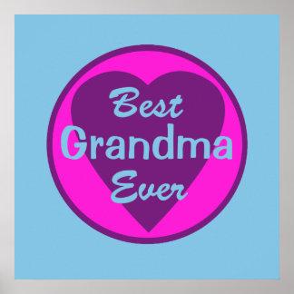 La mejor abuela nunca posters
