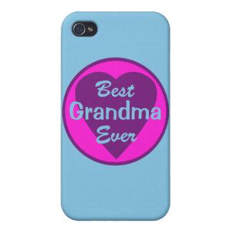La mejor abuela personalizada nunca iPhone 4/4S carcasa