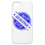 La mejor abuela siempre azul iPhone 5 fundas