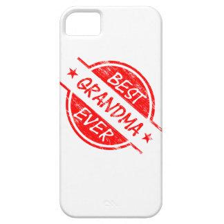 La mejor abuela siempre roja iPhone 5 Case-Mate funda