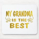 La mejor abuela tapete de ratones