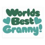 La mejor abuelita de los mundos postales