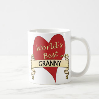 La mejor abuelita del mundo taza de café