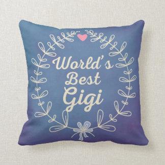 La mejor almohada de la guirnalda de la abuela de
